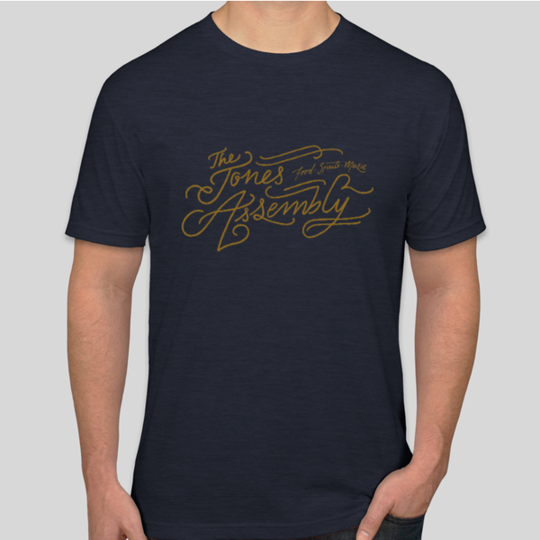The Jones Assembly - Script Logo Shirt