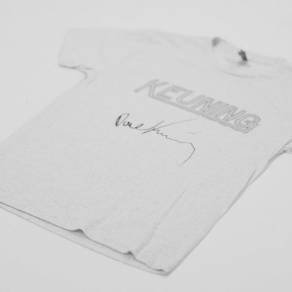 Keuning - Limited Signed White T-shirt