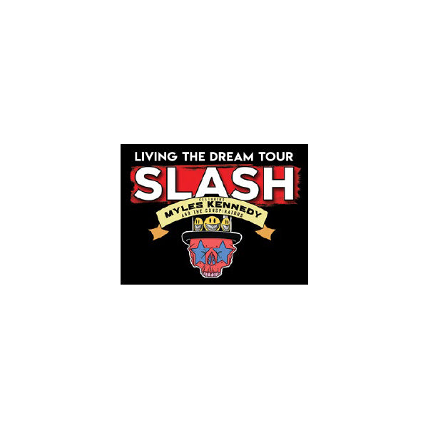 Slash Featuring Myles Kennedy & The Conspirators - Living The Dream Tour Keychain