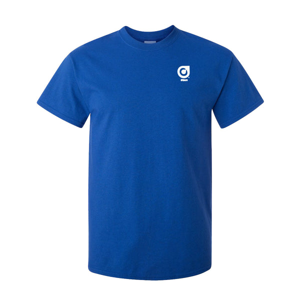 Orange Leaf Austin Uniform Store - Staff Tee (Blue)
