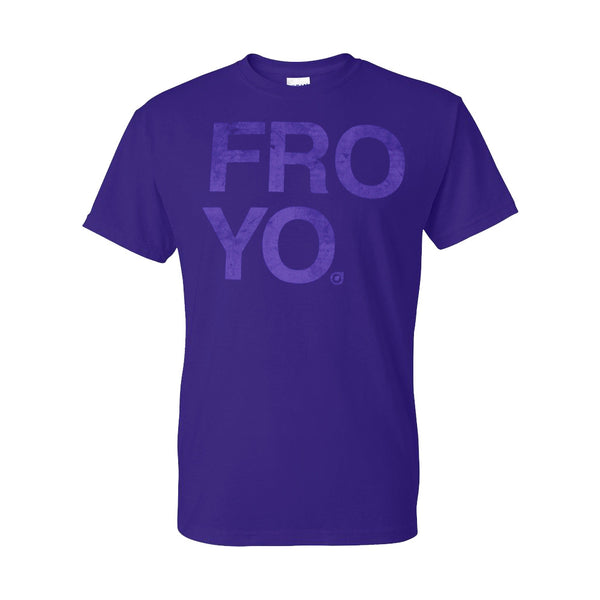 Orange Leaf Austin Uniform Store - Froyo Tee (Purple)
