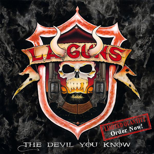 L.A. Guns - The Devil You Know CD