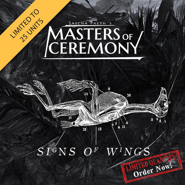 Sascha Paeth's Masters Of Ceremony - Signs Of Wings White Vinyl (PRESALE)