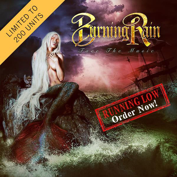 Burning Rain - Face The Music Signed CD