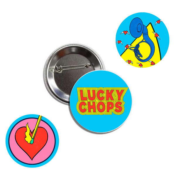 Lucky Chops - Pin Pack (PRESALE 9/27/2019)