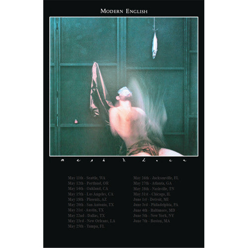 Modern English - Mesh And Lace Tour Poster
