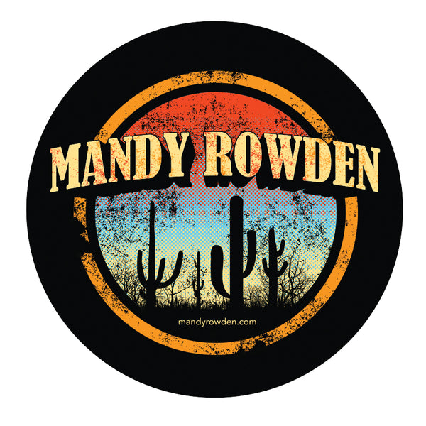 Mandy Rowden - Sunset Cactus Sticker