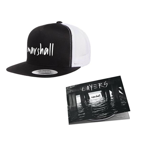 Marshall - Layers CD + Hat Bundle