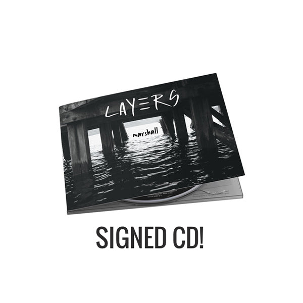 Marshall - Layers Signed CD