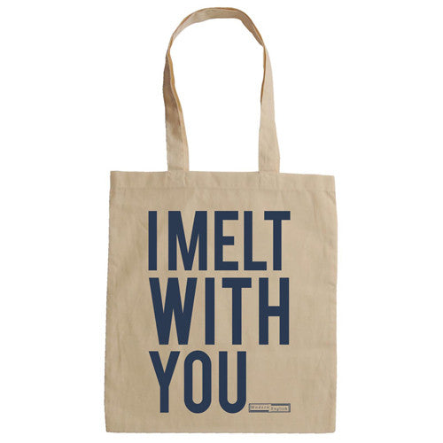 Modern English - Melt With You Canvas Tote