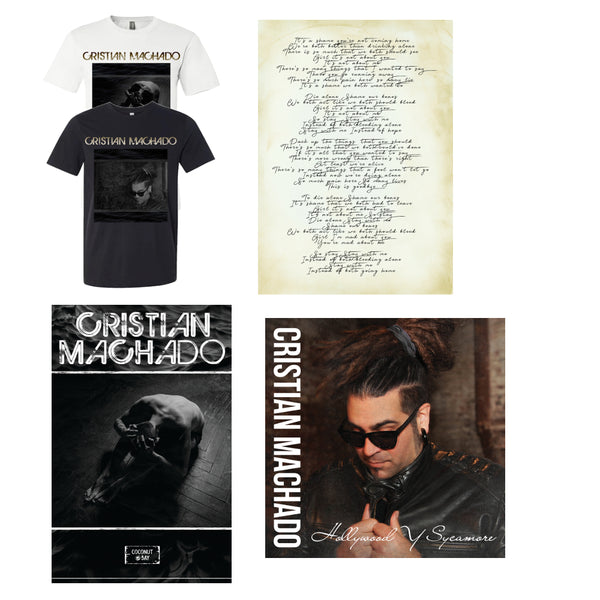 Cristian Machado - Merch Bundle (PRESALE FALL 2020)
