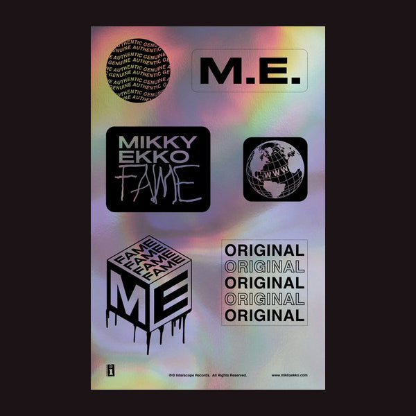Mikky Ekko - Hologram Sticker Set