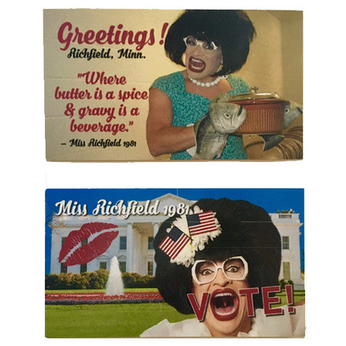 Miss Richfield 1981 - Magnet Set