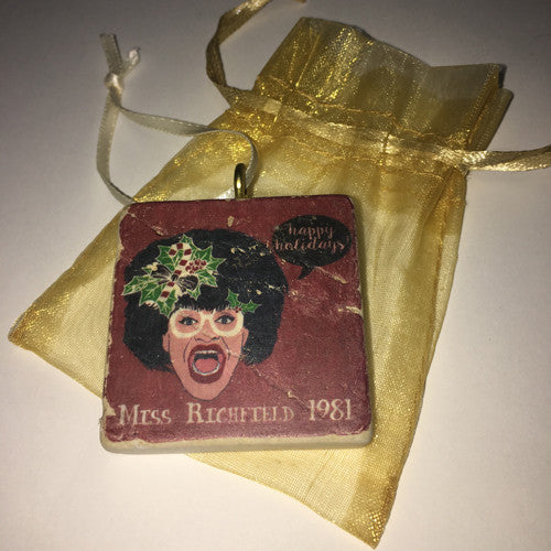 Miss Richfield 1981 - Holiday Ornament