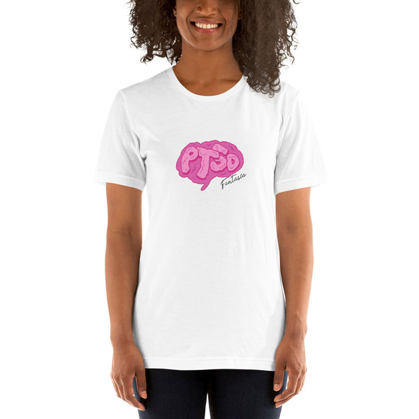 Fantasia - Brain Logo Tee (White)