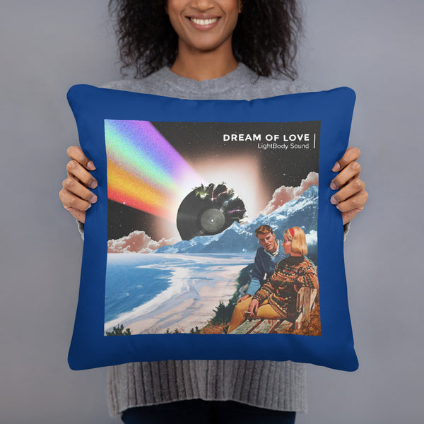 LightBody Sound - Dream of Love Throw Pillow 18x18