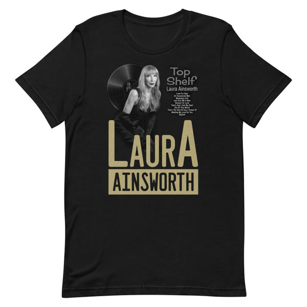 Laura Ainsworth - Top Shelf Tee