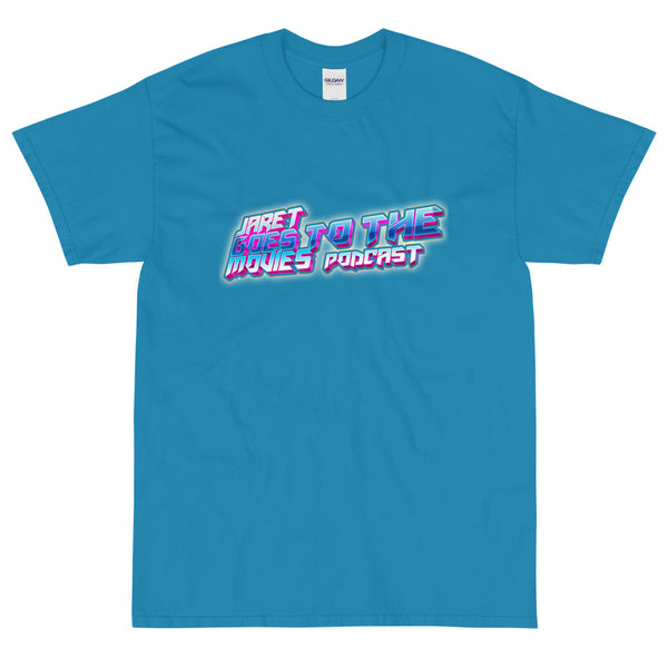 Jaret Goes To The Movies - Blue Logo Tee