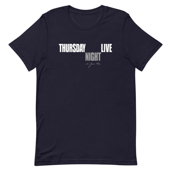 Jamie Mclean Band - Thursday Night Live Tee (Navy)