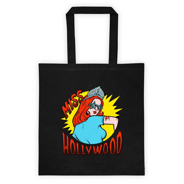 Miss Hollywood - Logo Tote