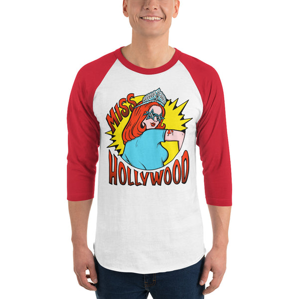Miss Hollywood - Logo Baseball Tee