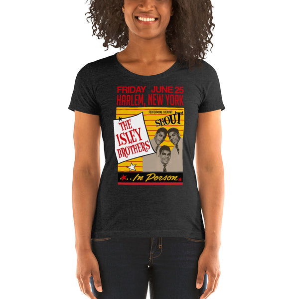 The Isley Brothers - Vintage Harlem Women's Tee