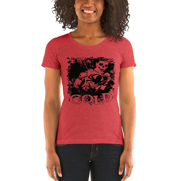 Cold - Resurrection Ladies Tee (Red)
