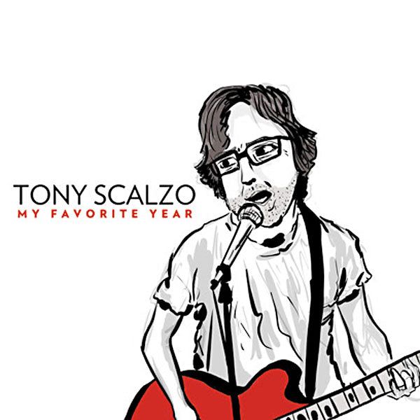 Tony Scalzo - My Favorite Year CD