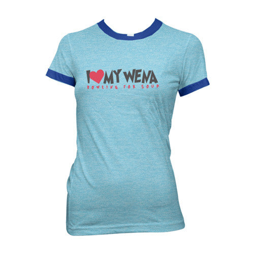 Bowling For Soup - My Wena Girly Ringer Tee