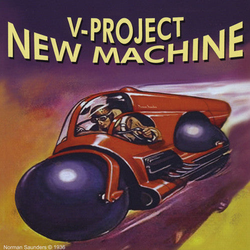 DMV Music - V-Project - New Machine CD