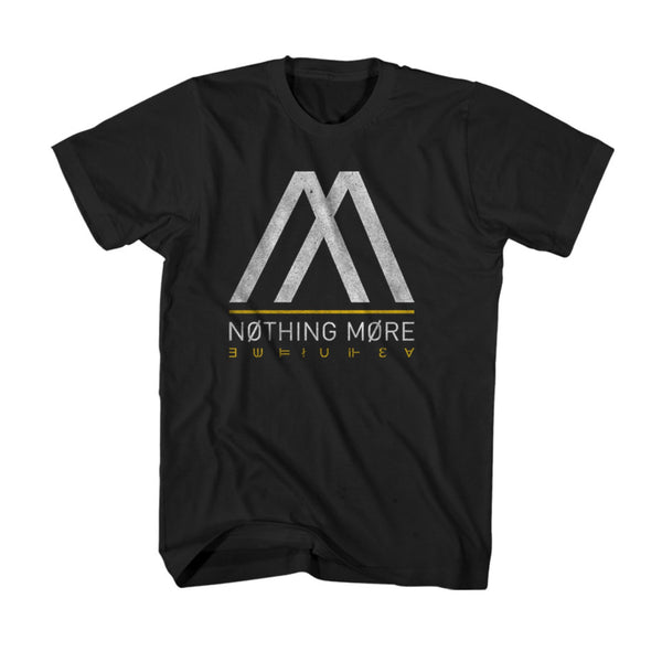 Nothing More - Black and Yellow Logo Tee (PRESALE 01/27/20)