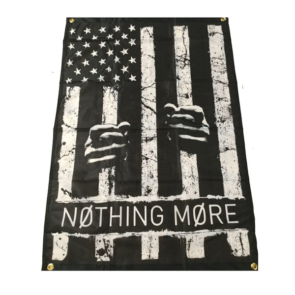Nothing More - We Are The Jail Wall Flag