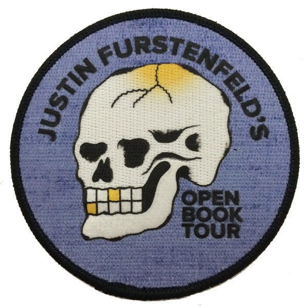 Justin Furstenfeld - Open Book 2017 Tour Patch