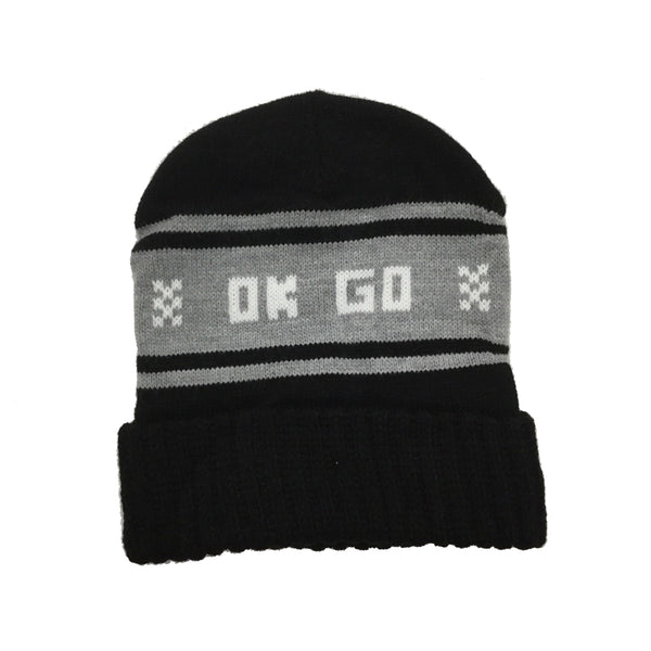 OK Go - Wisco Hat (Black and White)