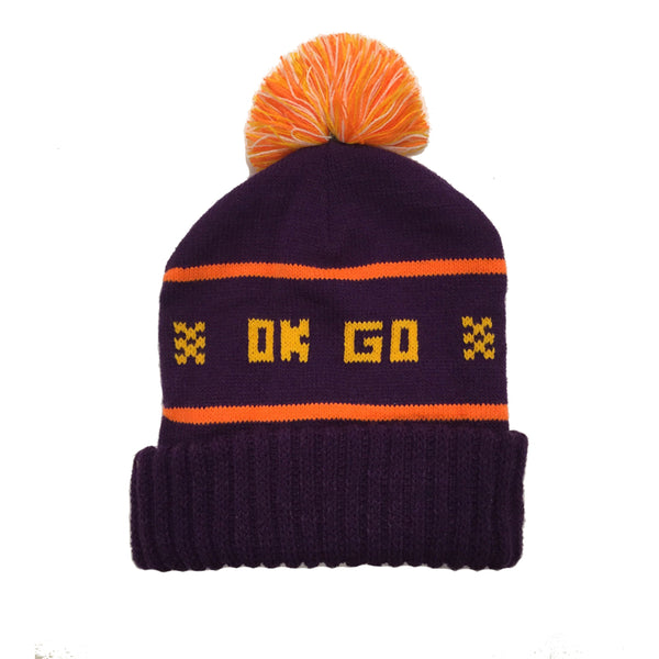 OK Go - Wisco Hat (Purple and Gold)