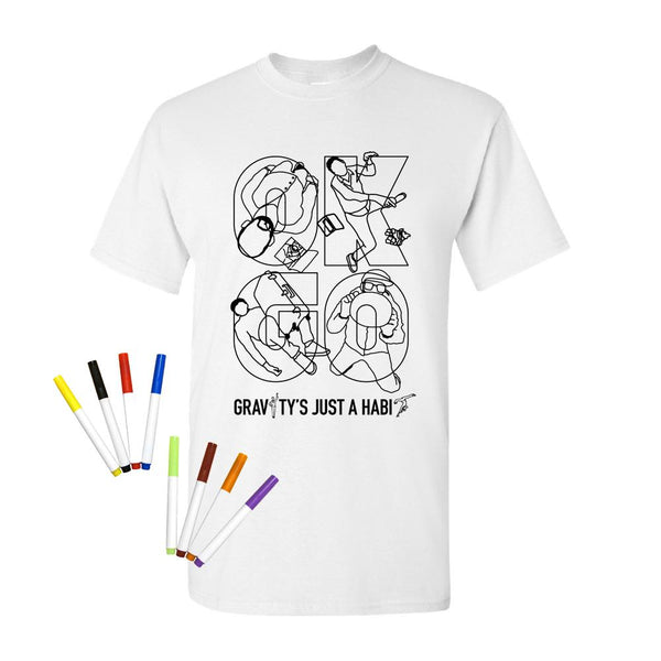 OK Go - Gravity Is Just A Habit Fabric Marker Tee