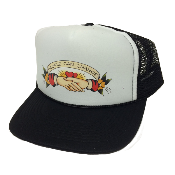 Gunner Black Co - People Can Change Trucker Hat