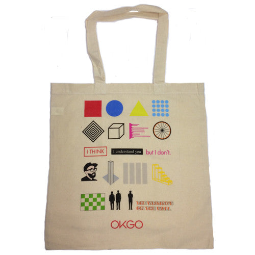 OK Go - The Writing's On the Wall Tote