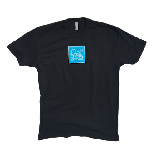 The Quebe Sisters - Logo Tee (Black)