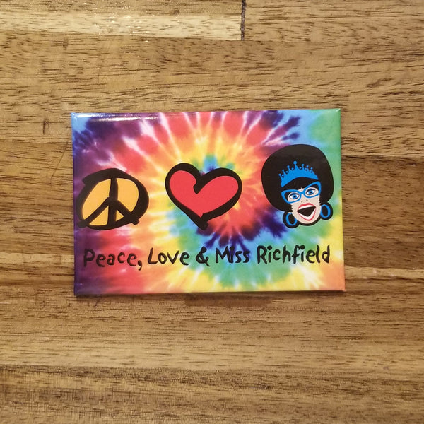 Miss Richfield 1981 - Love, Peace & Miss R Magnet