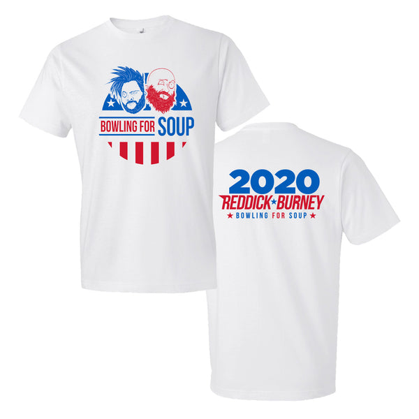 Bowling For Soup - Reddick & Burney 2020 Tee (White)