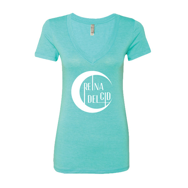 Reina Del Cid - Eclipse Ladies V-neck Tee