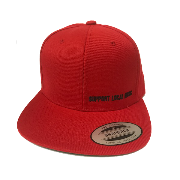 75e6858033a Support Local Music - Classic Snap-Back Hat - Bandwear