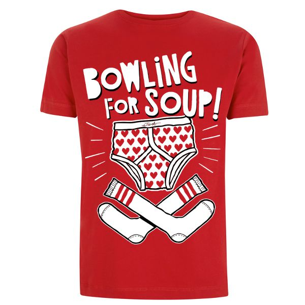 Bowling For Soup - Socks & Undies Tee