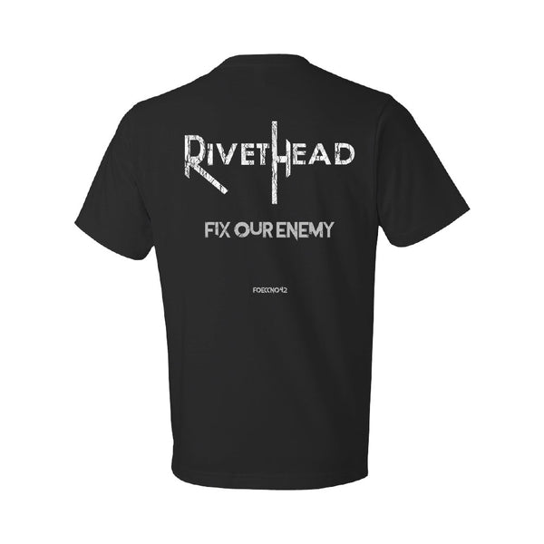 RIVETHEAD - Fix Our Enemy Album Tee