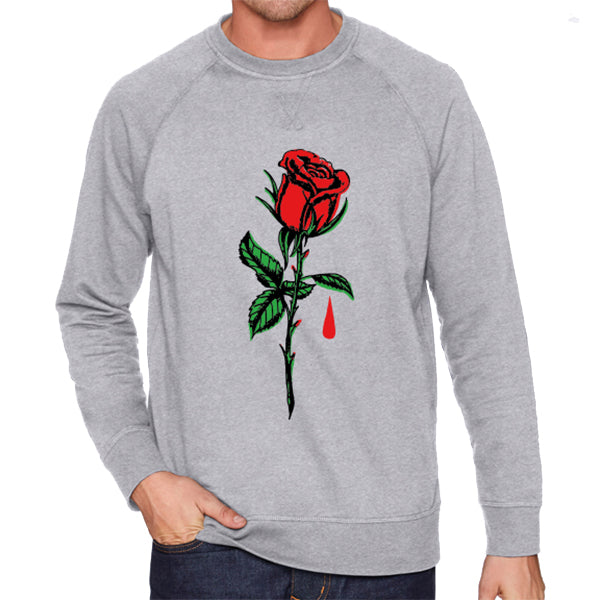 Blue October - IHYH Rose Sweatshirt (Heather Grey)