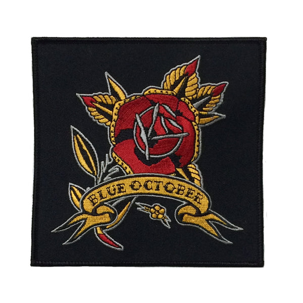 Blue October - Rose Tattoo Patch