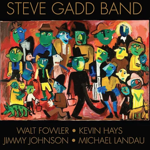 Steve Gadd Band - Self Titled Album CD