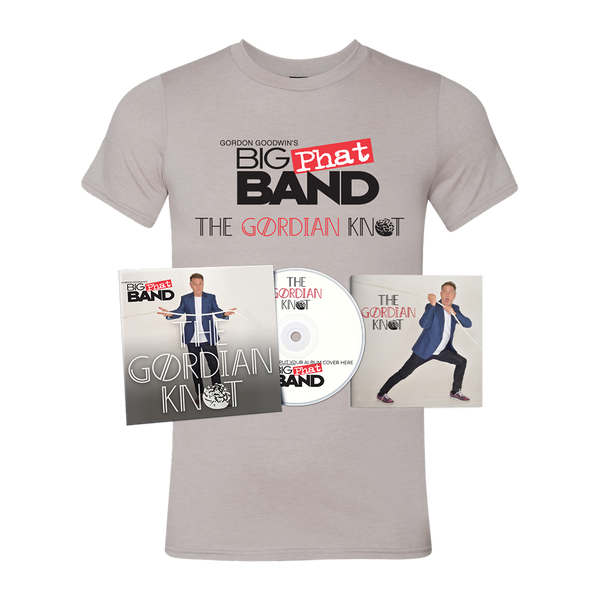 Gordon Goodwin's Big Phat Band - The Gordian Knot Tee + CD