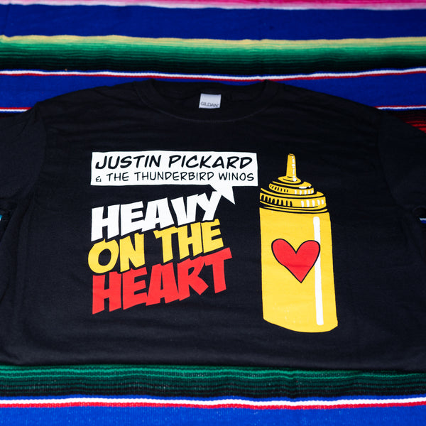 Justin Pickard - Mustard Bottle Tee